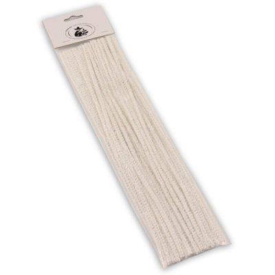 Pfeifenreiniger 30cm weiß 25er Beutel für Lesepfeifen