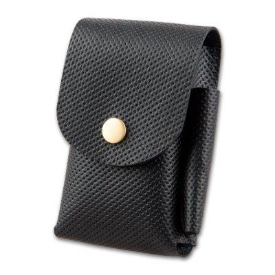 Zigarettenetui für Schachtel 20er Box Normal-Format Leder schwarz