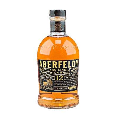 ABERFELDY Single-Malt-Whisky 12 Jahre 40% Vol. 700ml - (Preis 1L = € 54,14)