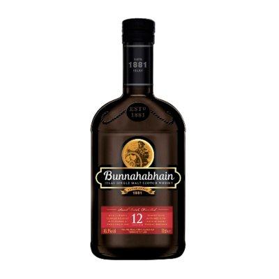 BUNNAHABAIN Single-Malt-Whisky 12 Jahre 46,3% Vol. 700ml - (Preis 1L = € 71,41)