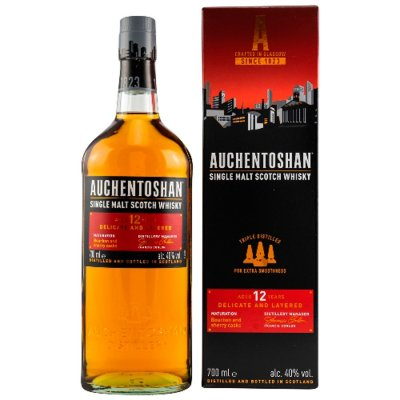 AUCHENTOSHAN Single-Malt-Whisky 12 Jahre 40% Vol. 700ml - (Preis 1L = € 42,84)