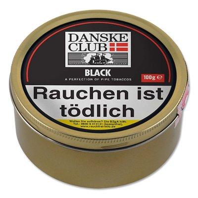 Pfeifentabak DANSKE CLUB Black 100g