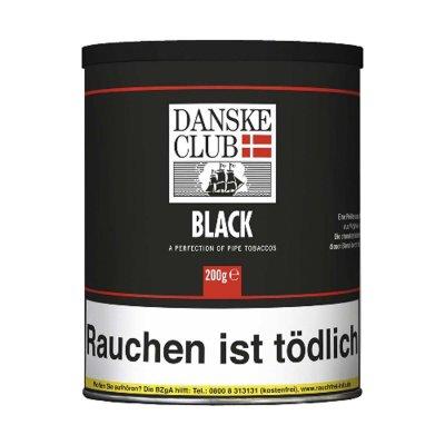 Pfeifentabak DANSKE CLUB Black 200g