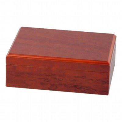 Zigarrenhumidor-Set 6-teilig Rosenholzfurnier für ca. 25 Cigarren
